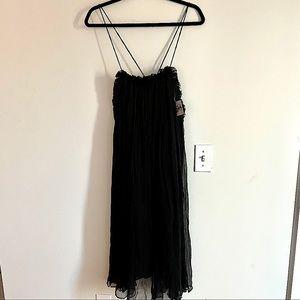 Free People x Brenda Knight Silk babydoll dress